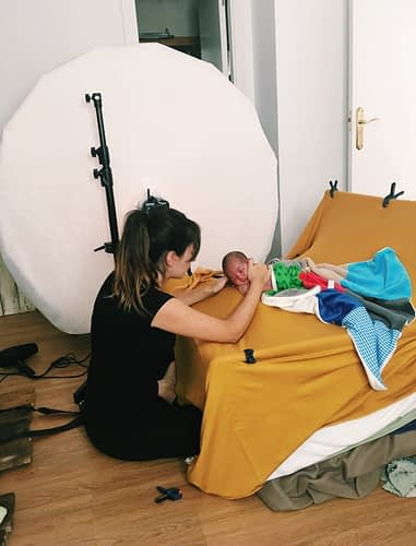 fotografia newborn y embarazo Barcelona