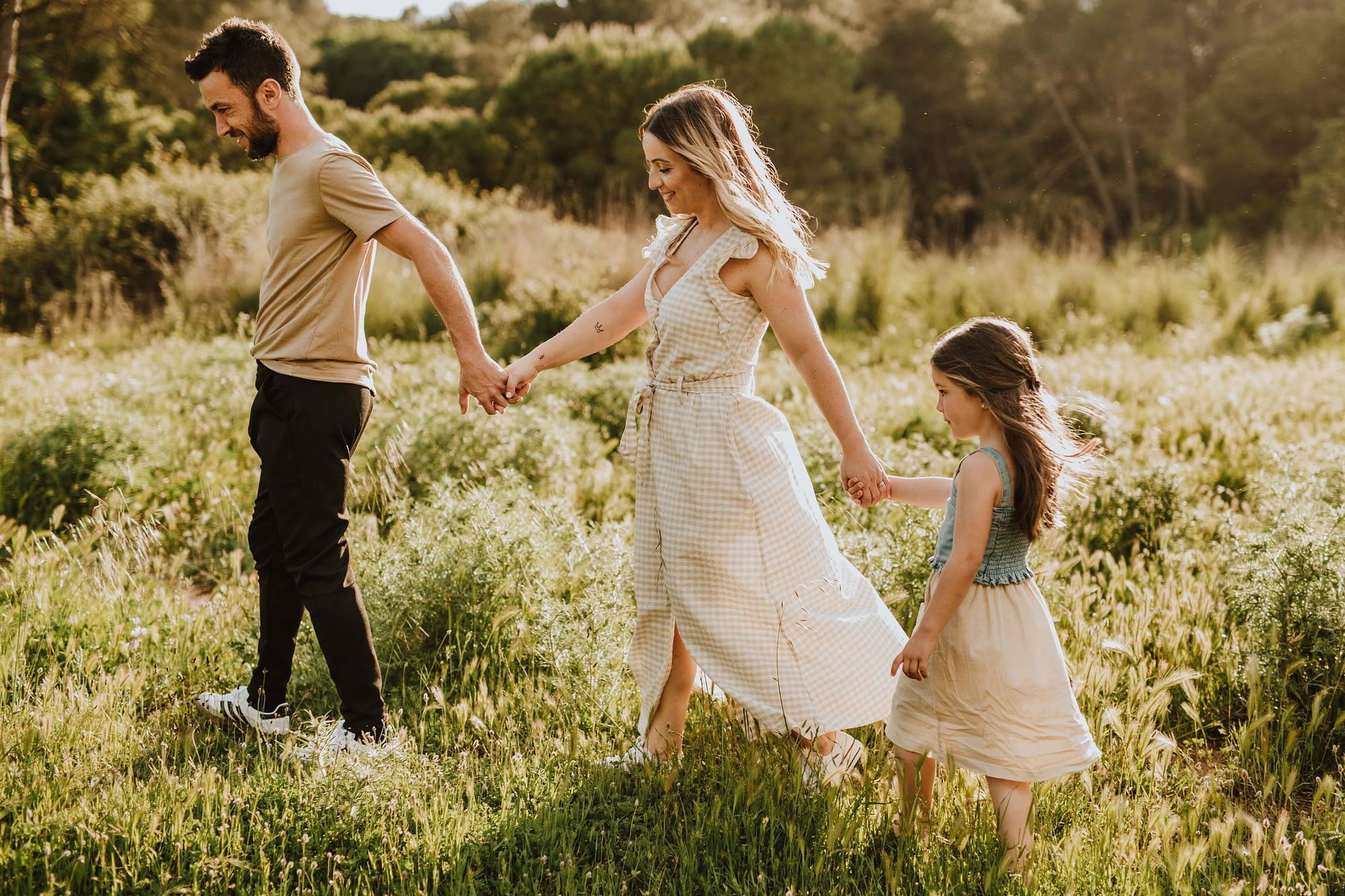 Family photographer in Barcelona