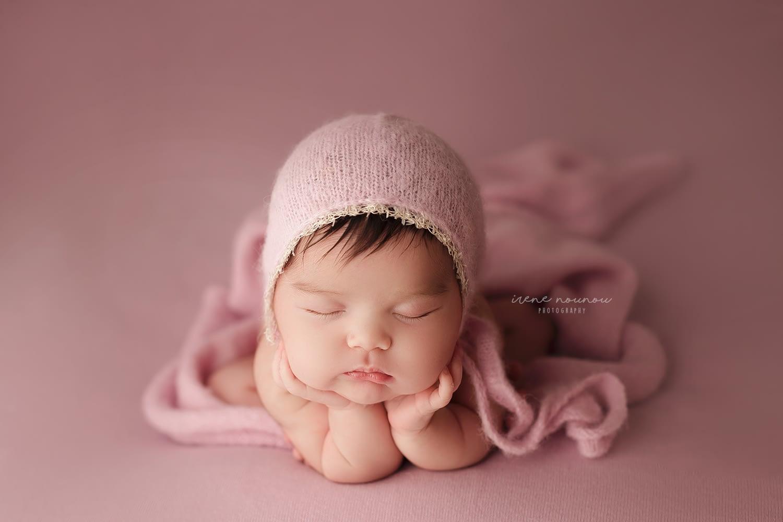 Fotografía newborn bebé recién nacido en Barcelona