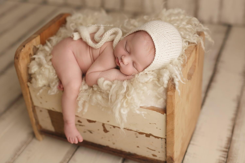 Reportaje fotografía newborn Sant Cugat del Vallès, Barcelona