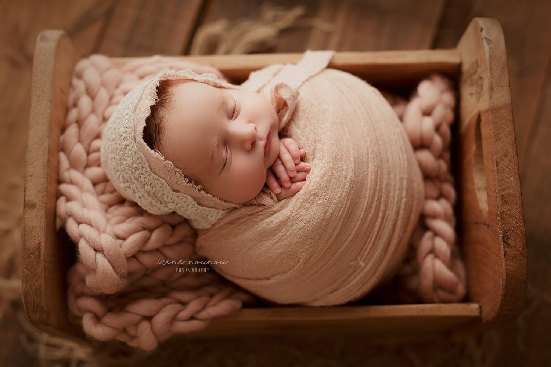 Reportaje fotografía newborn Sant Cugat del Vallès Barcelona