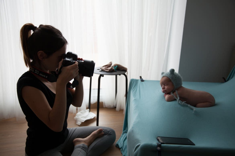 one to one fotografia newborn barcelona