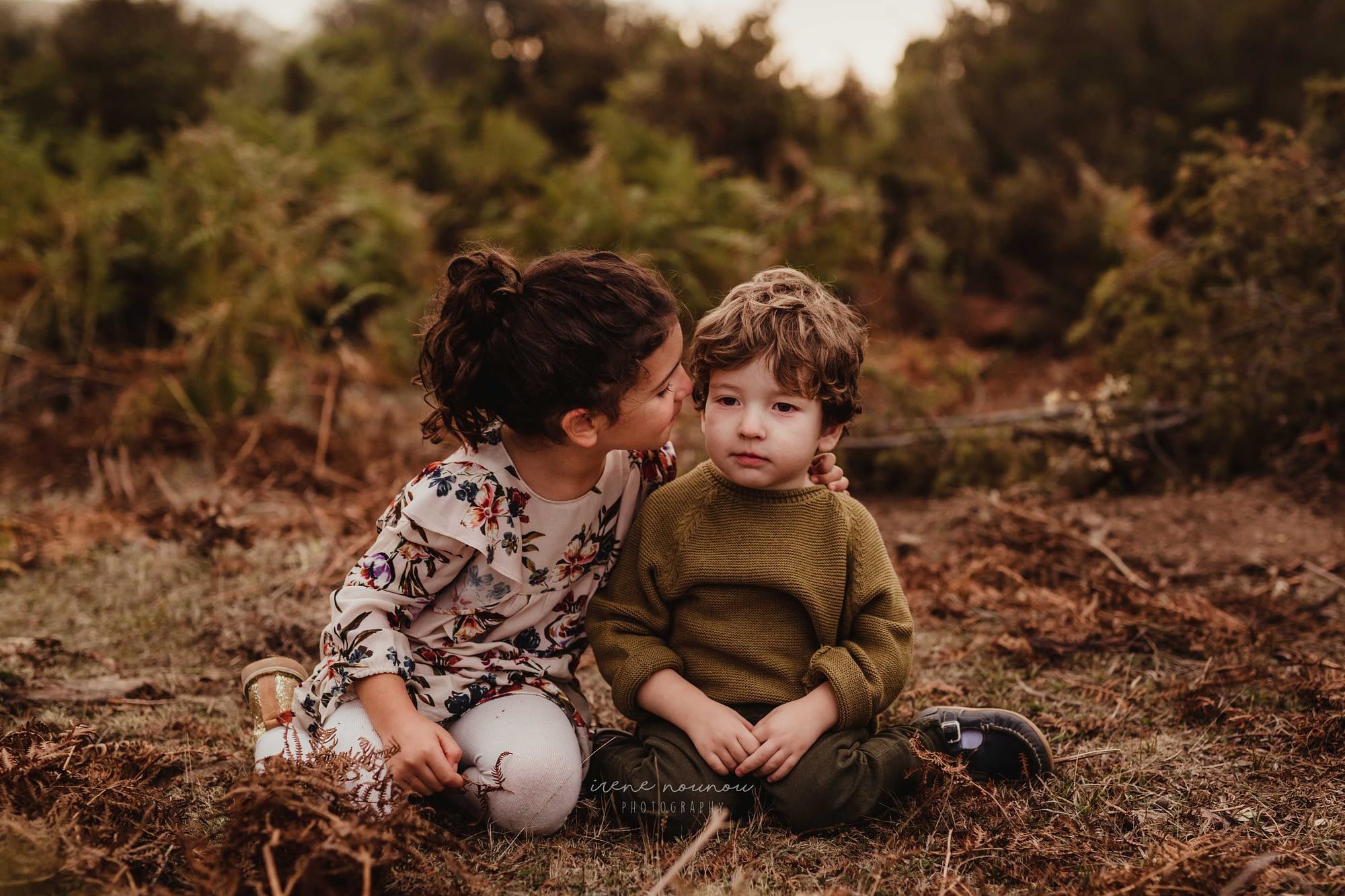Sesión fotografía niños Sant Cugat del Vallès barcelona